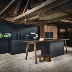 NX 870 FENIX onyx black fine matt AFP | Fitted kitchens | next125