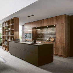 NX 870 FENIX mocha brown fine matt AFP | Fitted kitchens | next125