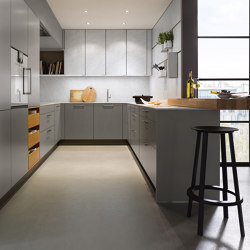 NX 510 Agate grey matt velvet | Fitted kitchens | next125