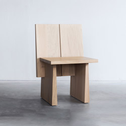 T-elements chair | Sillas | Van Rossum