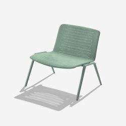 Zebra Knit poltrona lounge | Poltrone | Fast