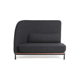 Arc Sofa Highback Love Seat L | Sofas | Stellar Works