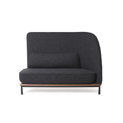 Arc Sofa Highback Love Seat R | Sofas | Stellar Works