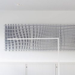 WAVE connected absorber | Sistemas fonoabsorbentes de pared | SPÄH designed acoustic