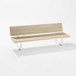 New Wood Plan Garden bench | Sitzbänke | Fast