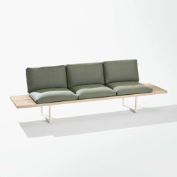 New Wood Plan Garden bench | Benches | Fast