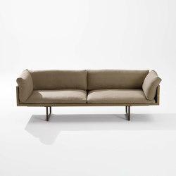 New Wood Plan Sofa | Divani | Fast