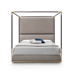 Stardust Four Poster Bed | Beds | Busnelli
