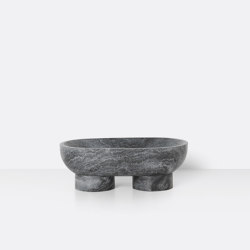 Alza Bowl - Black | Cuencos | ferm LIVING