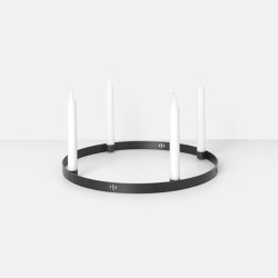 Candle Holder Circle - Large | Candelabros | ferm LIVING