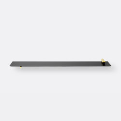 Flying Shelf - Cylinder - Brass | Estantería | ferm LIVING