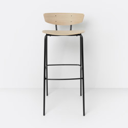 Herman Bar Chair High Oak | Barhocker | ferm LIVING