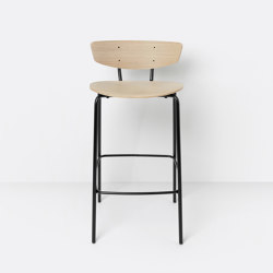 Herman Bar Chair Low Oak | Barhocker | ferm LIVING