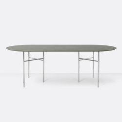 Mingle Oval Table Top - 220cm – Tarkett | Tavoli pranzo | ferm LIVING