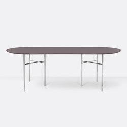 Mingle Oval Table Top - 220cm – Taupe | Tavoli pranzo | ferm LIVING