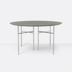 Mingle Round Table Top - Ø: 130cm   Dining tables   ferm LIVING