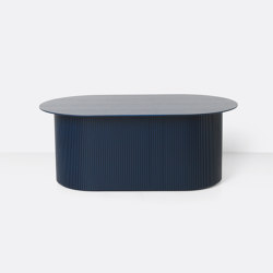 Podia Table - Blue | Coffee tables | ferm LIVING