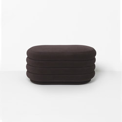 Pouf - Medium - Chocolate | Poufs | ferm LIVING