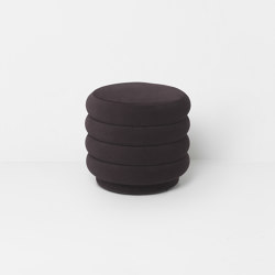 Pouf - Small - Chocolate | Poufs | ferm LIVING