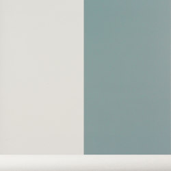 Wallpaper Thick Lines - dusty blue/off white | Wall coverings / wallpapers | ferm LIVING