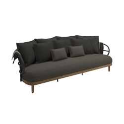 Dune 3 Seater Sofa Meteor | Sofas | Gloster Furniture GmbH