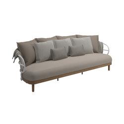 Dune 3 Seater Sofa White | Sofás | Gloster Furniture GmbH