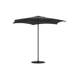 Halo He Agonal Push Up Parasol Meteor | Parasols | Gloster Furniture GmbH
