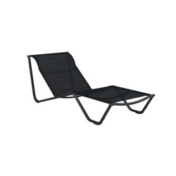 Helio Fi Ed Back Lounger Meteor Charcoal | Tumbonas | Gloster Furniture GmbH