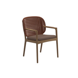 Kay Dining Chair Copper | Sillas | Gloster Furniture GmbH