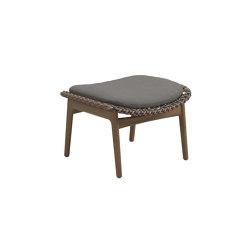Kay Ottoman Brindle | Hocker | Gloster Furniture GmbH