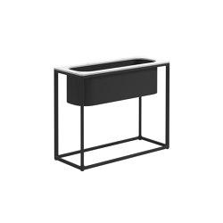 Maya Bianco Ceramic Planter Meteor | Maceteros | Gloster Furniture GmbH