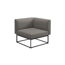 Maya Corner Unit Meteor Dot Nimbus | Armchairs | Gloster Furniture GmbH