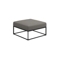 Maya Ottoman Meteor Dot Nimbus | Poufs | Gloster Furniture GmbH