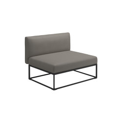 Maya Centre Unit Meteor Dot Nimbus | Armchairs | Gloster Furniture GmbH