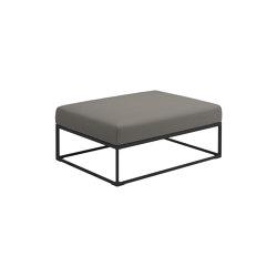 Maya Ottoman Meteor Dot Nimbus | Pufs | Gloster Furniture GmbH