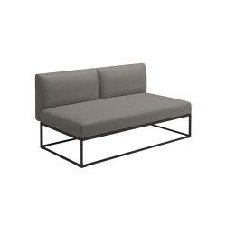 Maya Centre Unit Meteor Dot Nimbus | Sofas | Gloster Furniture GmbH