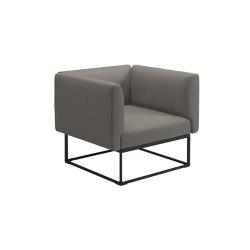Maya Lounge Chair Meteor Dot Nimbus | Armchairs | Gloster Furniture GmbH
