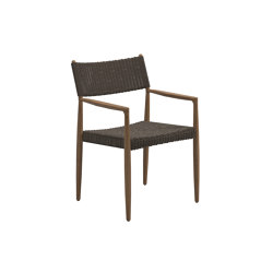 Tundra Dining Chair With Arms | Chairs | Gloster Furniture GmbH