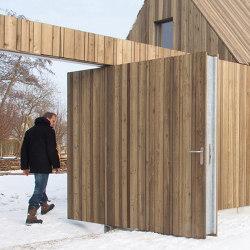 System 3 | Wooden Front Door | Hinges | FritsJurgens