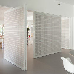 System 3 | Soundproof Pivot Doors | Hinges | FritsJurgens