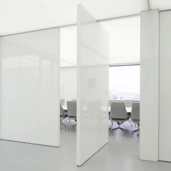 System 3 | White Pivoting Door | Hinges | FritsJurgens