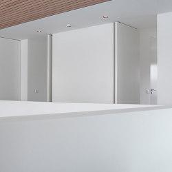 System M | White Pivot Doors | Hinges | FritsJurgens