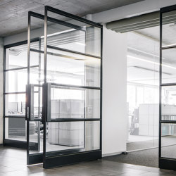 System M | Steel Pivoting Doors | Hinges | FritsJurgens