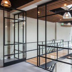 System M | Steel Pivot Door | Hinges | FritsJurgens