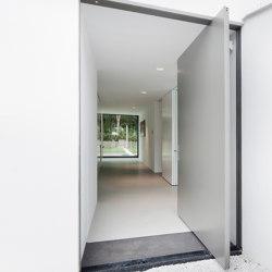 System One | Entrance Pivot Door | Bisagras | FritsJurgens
