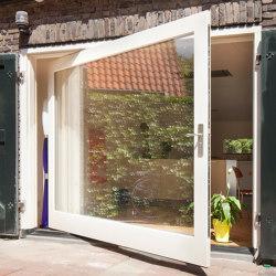 System One | Pivoting Exterior Door | Türbänder / Scharniere | FritsJurgens