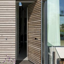 System One | Entrance Pivoting Door | Türbänder / Scharniere | FritsJurgens