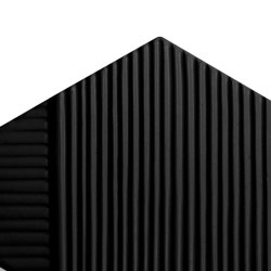 Tua Stripes Black Matte | Carrelage céramique | Mambo Unlimited Ideas
