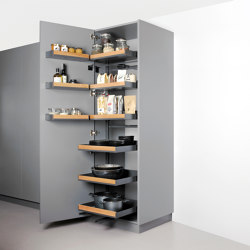 Pleno Plus Hochschrank larder pull-out | Kitchen organization | peka-system