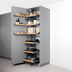 Pleno Plus Despensa extraíble Hochschrank | Organización cocina | peka-system